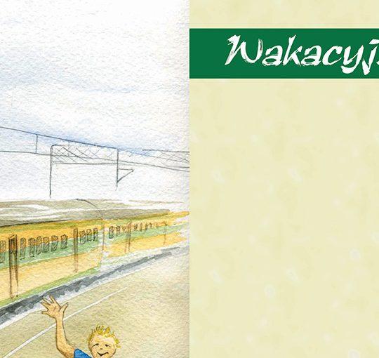Wakacyjny Pociąg Wiersze Dla Dzieci