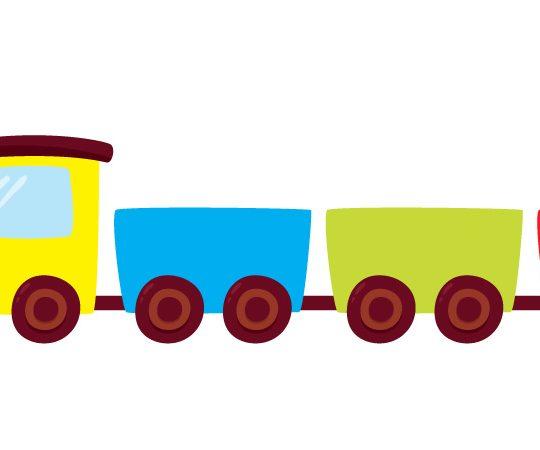 Quiz Kolorowy Pociąg Wiersze Dla Dzieci