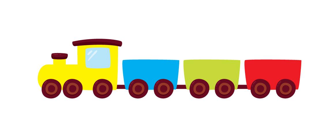 Quiz - Kolorowy pociąg